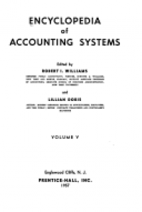 Image of ENCYCLOPEDIA OF ACCOUNTING SYSTEMS VOLUME II