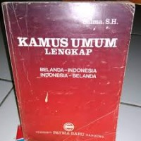 Image of Kamus Praktis Belanda - Indonesia