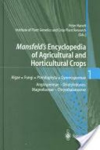 Image of Mansfeld'd Encyclopedia Of Agricultural and horticultural Crops 3