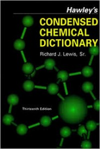 Image of Kamus Hawley's Condensed Chemical Ductionary