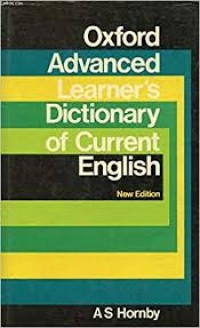 Image of Oxford Advanced Learner's Dictionary English As Hornby
